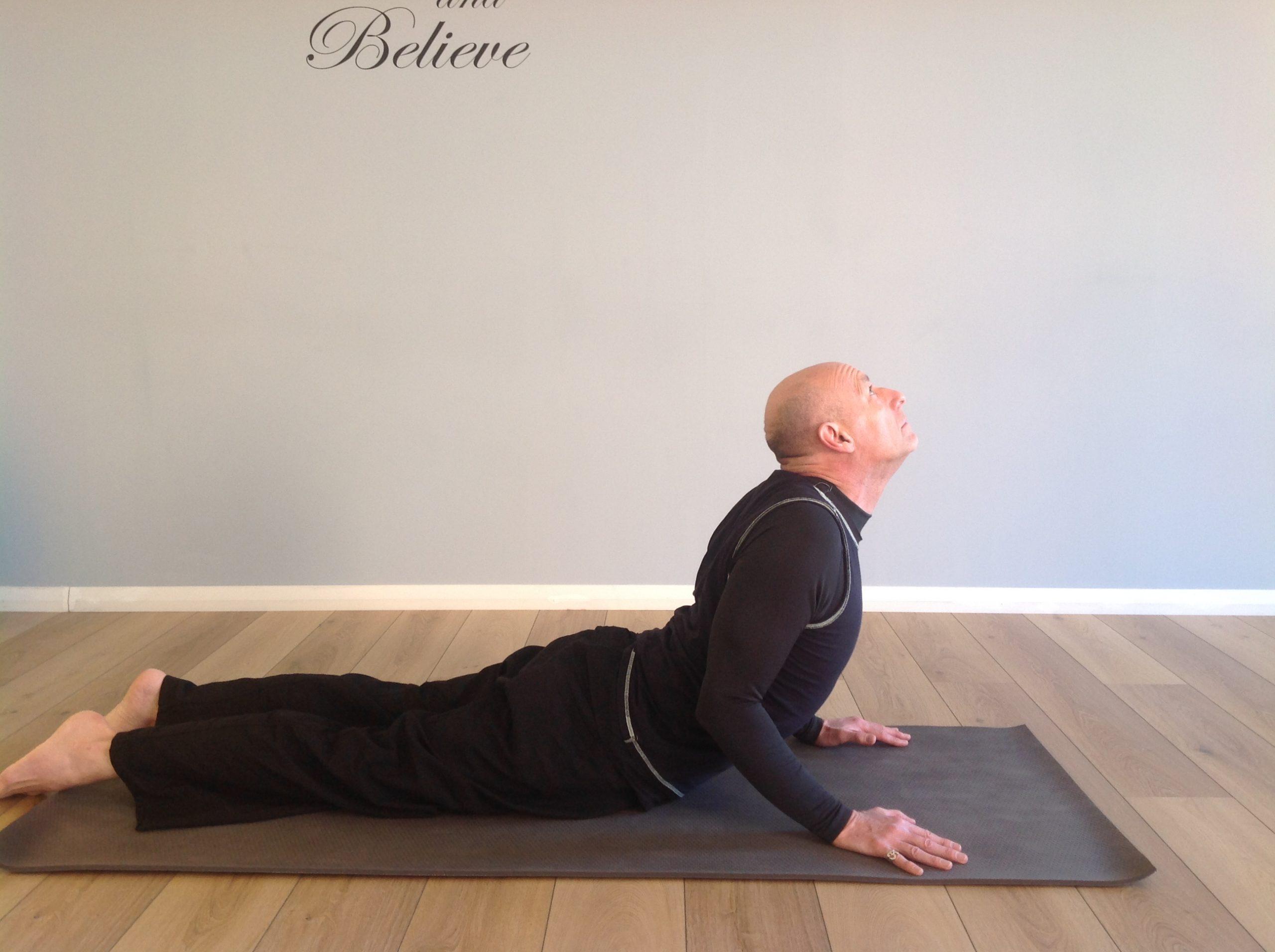 Cobra Yoga Pose