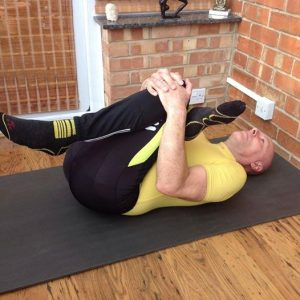 Stretch for yoga for cyclists