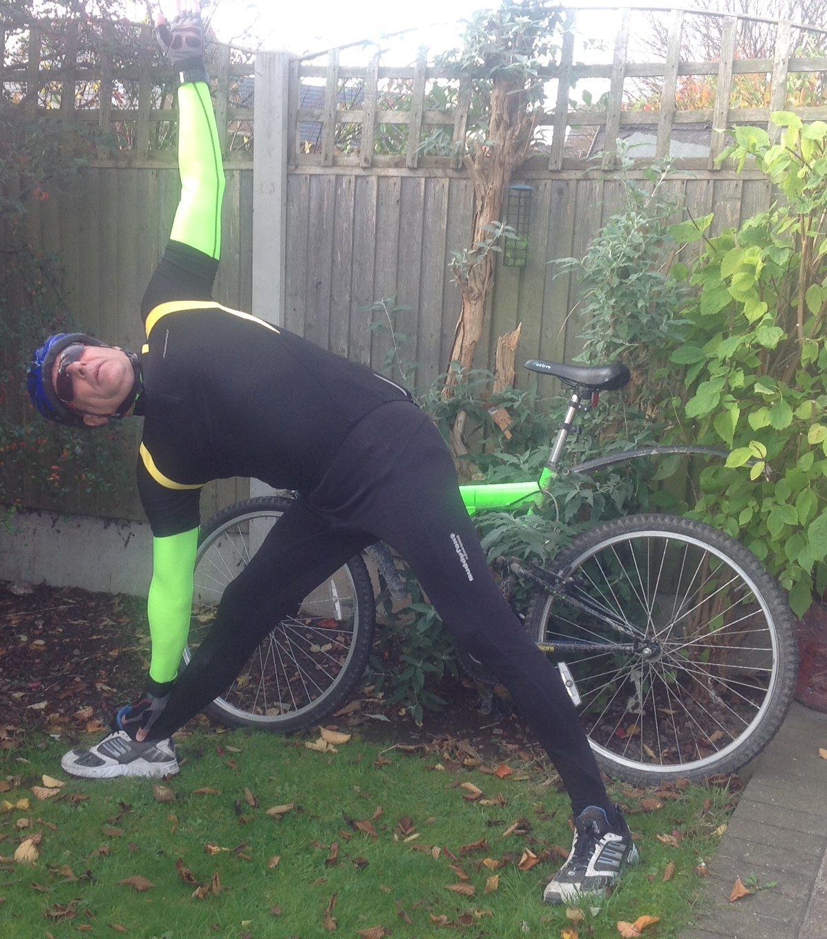 Yoga for Cyclists with Kev