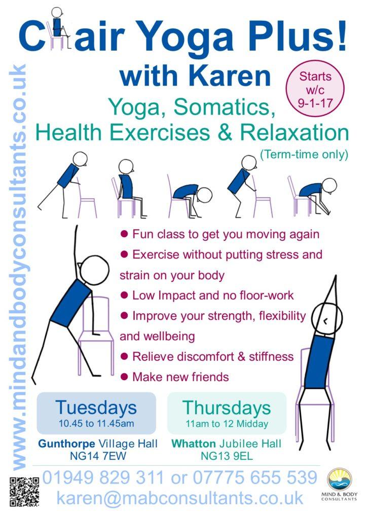 Chair Yoga Plus! at Gunthorpe and Whatton