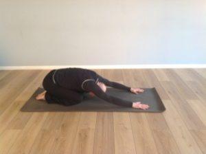 yoga child's pose MAB Consultants