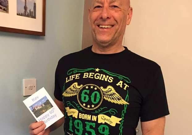 Kev 60th birthday